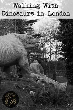 It may surprise you to hear that you will encounter dinosaurs on London England's Green Chain Walk. In Crystal Palace, of all places.