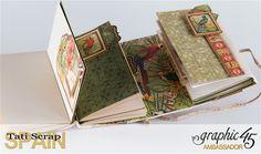 Tati, Safari Adventure Book, Product by Graphic 45, Photo 10