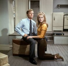 "Corie Bratter and Paul Bratter from ""Barefoot in the Park""."