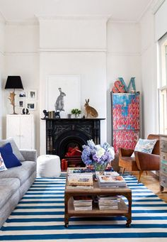 Lucy Fenton's Colorful Modernism HomeLife