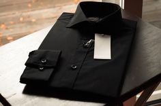 Hugh and Crye – Le Chiffre Black Shirt