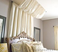 s these 13 viral ideas will make your home look expensive on a budget, home decor, Set up a stylish canopy