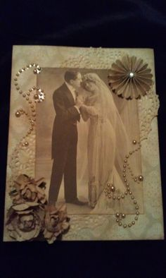 60th Wedding Anniversary Card I Made For A Very Special Couple