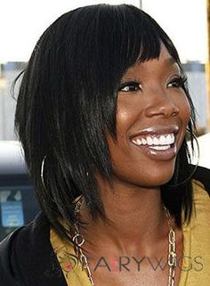 Chic Short Straight Black African American Wigs for Women Teen Girl Hairstyles, Winter Hairstyles, Short Hairstyles For Women, Weave Hairstyles, Best Human Hair Wigs, Cheap Human Hair Wigs, Best Wigs, Black Hair Styles Relaxed, Relaxed Hair