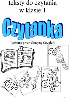 teksty do czytania w klasie 1 (zebrane przez Grażynę Czygier) - PDF