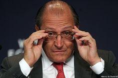 """EXCLUSIVO: Alckimin """"ameaça""""deixar PSDB e diz que Aécio não tem condições de ser candidato à Presidente"""