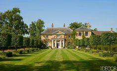 Jemma Kidd's English estate from Elle Decor.
