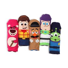 5 Pairs Friends Animals Character Socks Women Girls Big Kids Funny Casual Socks
