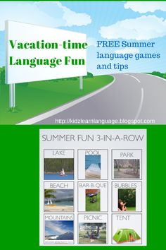 Kidz Learn Language http://kidzlearnlanguage.blogspot.com - free language game for the summer