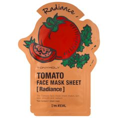 What it is:A set of two individually wrapped tomato-infused sheet masks to boost radiance and transform your skin into a smooth, refreshed, healthier-looking complexion in as little as 20 minutes.   What it is formulated to do:This sheet mask treatm