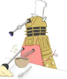 Dalek aka the mixer by dinamata on deviantART