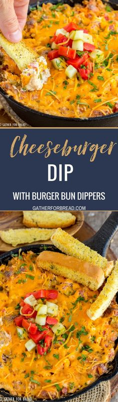 Cheeseburger Dip - You've GOT to TRY this dip that tastes like a REAL cheeseburger. Last party I took it to, it got RAVE reviews!!!! Must try.