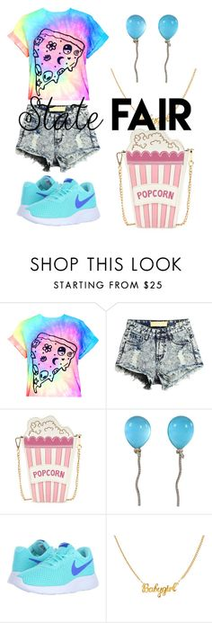 """""""Untitled #222"""" by summfam ❤ liked on Polyvore featuring Vhernier, NIKE, statefair and summerdate"""