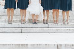 Wedding portraits at the Jefferson Memorial in Washington DC. Captured by NYC wedding photographer Ben Lau.