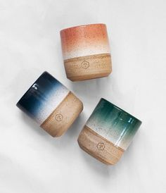 Mixed Series No. 4 gradient mugs
