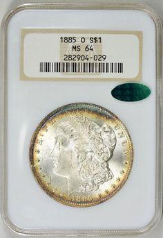 1900-0  MS64 by PCGS Morgan Silver Dollar  Bright Luster GEM