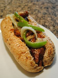 Vegan Korean BBQ Sub