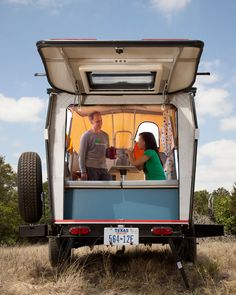 Part tent, part RV, the NASA-inspired Cricket Trailer is the go-to camper for modern road trippers.