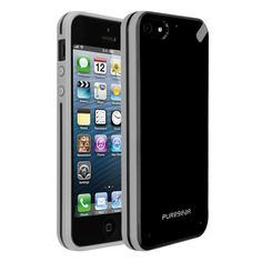 Slim Shell Case for iPhone 5, Black Tea  http://www.pure-gear.com/slim-shell-case-for-iphone-5.html