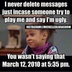Michelle Olivia show memes (9 pictures) LOL!!!