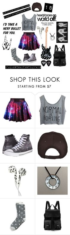 """18 ~ 5 Seconds Of Summer"" by gracet-broadway-baby1 ❤ liked on Polyvore featuring Converse, Tommy Hilfiger and Aspinal of London"