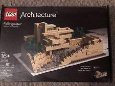 LEGO Architecture - Rare - Fallingwater Frank Lloyd Wright 21005 w/ instructions