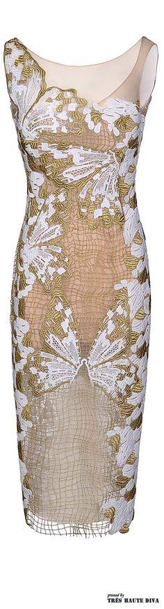 Blumarine 3/4 length dress Spring/Summer 2014