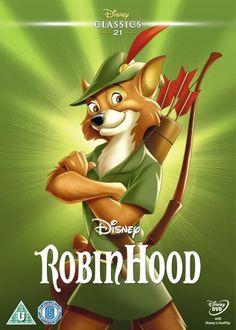 Robin Hood (1973) (Limited Edition Artwork Sleeve) [DVD]