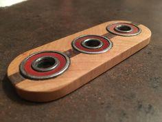 Fidget Spinner by TedDancinDesign on Etsy https://www.etsy.com/listing/469317590/fidget-spinner
