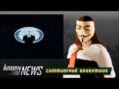 Anonymous Belgium #OpGuerilla suite 22/08/2015 - YouTube
