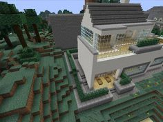 Minecraft gaming xbox xbox360 house #home creative mode mojang barn modern house home