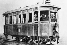 Steam powered Railcar, Austria 1903