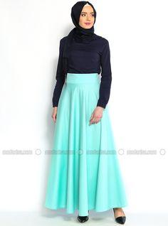 Plain circular skirt - Veteks Line