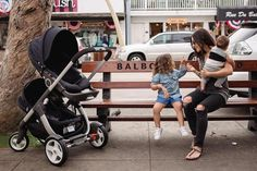 Enjoy your family adventures with two in tow with Stokke Crusi stroller with sibling seat solution