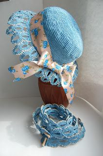 macrame-etc: Hat and braces