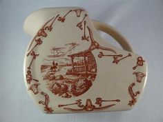 Have one to sell? Sell it yourself       Wallace China El Rancho Large Serving Pitcher Dorhmann Hotel