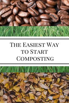 The Easiest Way to Start Composting | Nourishing Pursuits | I always thought composting was so complex with all the do's and don'ts, but then I realized that it doesn't have to be difficult.