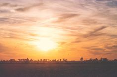 Day 291:  sunset over the cotton fields