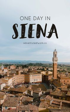 Just a few hours away from Florence, Siena is a medieval gem located in the heart of Tuscany, Italy. It's quite full of medieval charm, gorgeous artwork, and delicious Italian food. Here's how to spend one day in Siena!