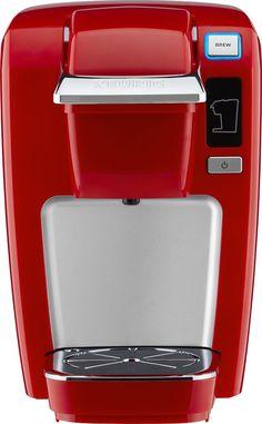 Keurig - K15 Single-Serve Coffee Maker - Chili Red, 120310