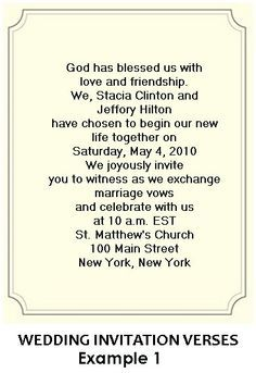 Christian wedding invitation wording someday pinterest wedding invitation templates google search filmwisefo