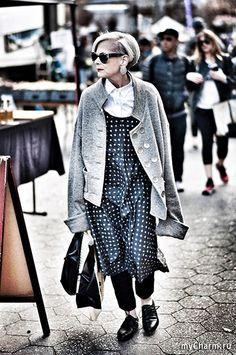 """Лин Слейтер - самая модная """"бабушка"""" Америки: Группа Мода и стиль"""