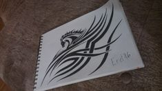 My own tribal horse drawing