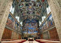 Sistine Chapel in the Vatican done by my all time favorite artist Michelangelo