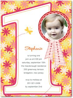 1st birthday invitations bris 1st bday pinterest birthdays and butterfly birthday birthday party invitations in begonia stopboris Choice Image
