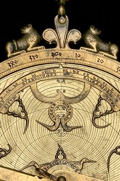 Divination and Oracles ☽ Navigating the Mystery ☽ Astrolabe, Hispano-Moorish, c.1300