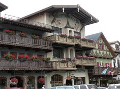 Leavenworth, WA...wineries, Oktoberfest, German food, Germany styled buildings, and mountains. What more could you want in a tiny town?