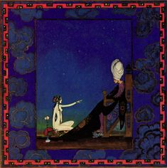 Visions of the Jinn: A Visual History of Arabian Nights | Brain Pickings Kay Nielsen 1917