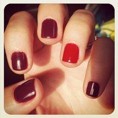 We are loving Zoya's fall nail color line! @glamour_mag @zoyanailpolish #fallmani