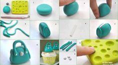 Tiny Handbag Fondant Tutorial